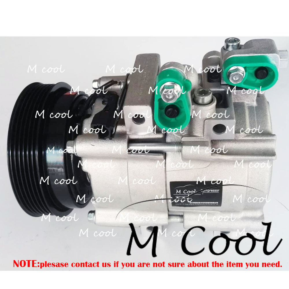 Фирменная Новинка Авто AC компрессор для hyundai Santa Fe SM 2,0 2,7 2001 2006 9770126200 9770126300 977012E100