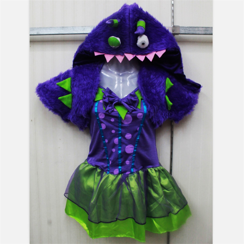 2018New alta calidad animal vestido mujeres sexy kigurumi Halloween ...