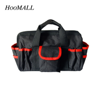 Hoomall Double Multi Functional Tool Kit Wear Resistant Oxford Cloth Portable Maintenance Kit Electrical Tool Bag