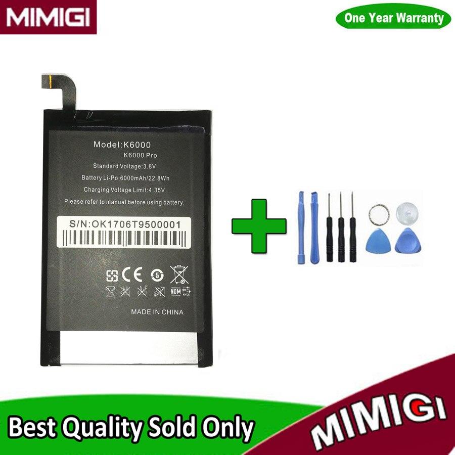 JESSQUE Haute Qualité 6000 mAh Batterie Pour Oukitel K6000 Pro ACCU AKKU + En Stock