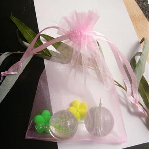 Image 3 - Hot Koop 1000 stks 5 cm x 7 cm koord pouch Wedding Christmas party Gift Bag organza trekkoorden sieraden Verpakking zak Garen zakken