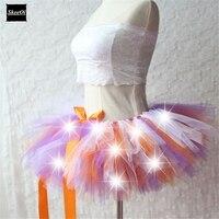 New Arrival Women Tulle Tutu Skirt Sexy Mini Fancy Adult Petticoat Fluffy Yarn Ballet Dance Halloween