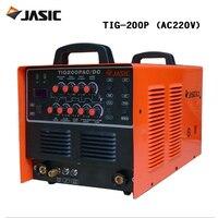 Jasic сварщик WSE 200P/AC/DC pulse TIG сварки и сварки алюминия машина TIG 200P
