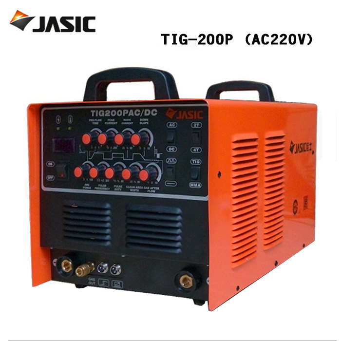 Jasic welder WSE-200P/ AC / DC pulse TIG welder and aluminum welding machine TIG-200P huf monogram crew sock navy