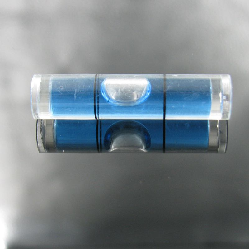 Haccury 8*35mm nivel plástico foto Marcos burbuja mini tubular ...