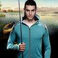 Anti-mosquito sunscreen breathable quick-drying anti-mosquito fishing clothes fishing sunscreen summer sun clothing men