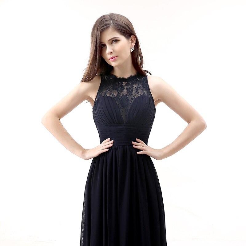 Forevergracedress 2017 Μαύρο φόρεμα μακρύ - Φορεματα για γαμο - Φωτογραφία 5