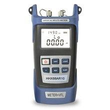 Portable Optical Power Meter, 10mw 15km Red Laser Visual Fault Locator Tester Tool недорого