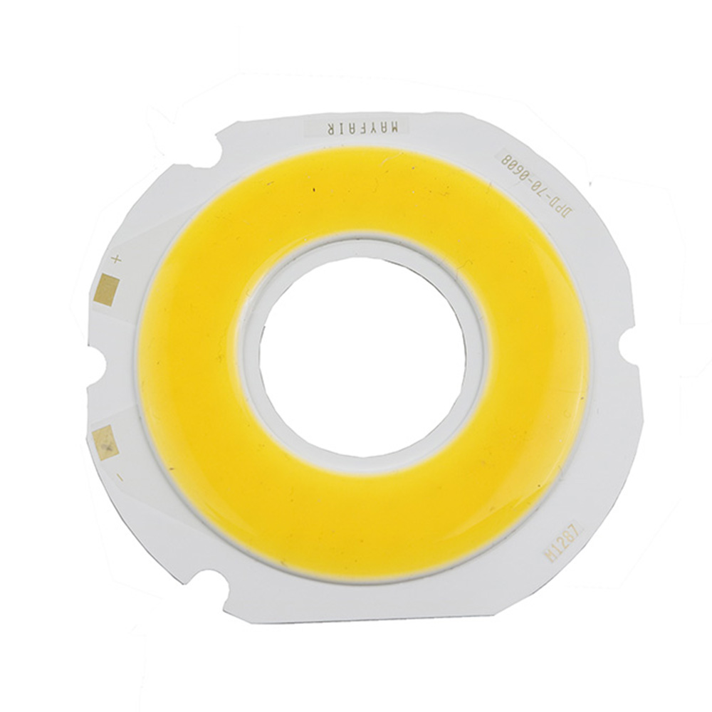 100pcs 18w Ultra Bright Round Cob Led Warm White Power Light Lamp How To Build Source Chips Diy Dc 18 21v 800ma 3 Years Integrated Circular In Bulbs Tubes From