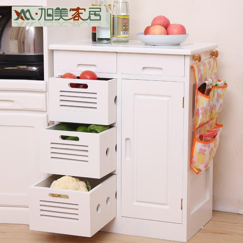 Xu mei hout dressoir multifunctionele gerecht kast keuken kast opbergkast kast ventilatie - Dressoir originele keuken ...