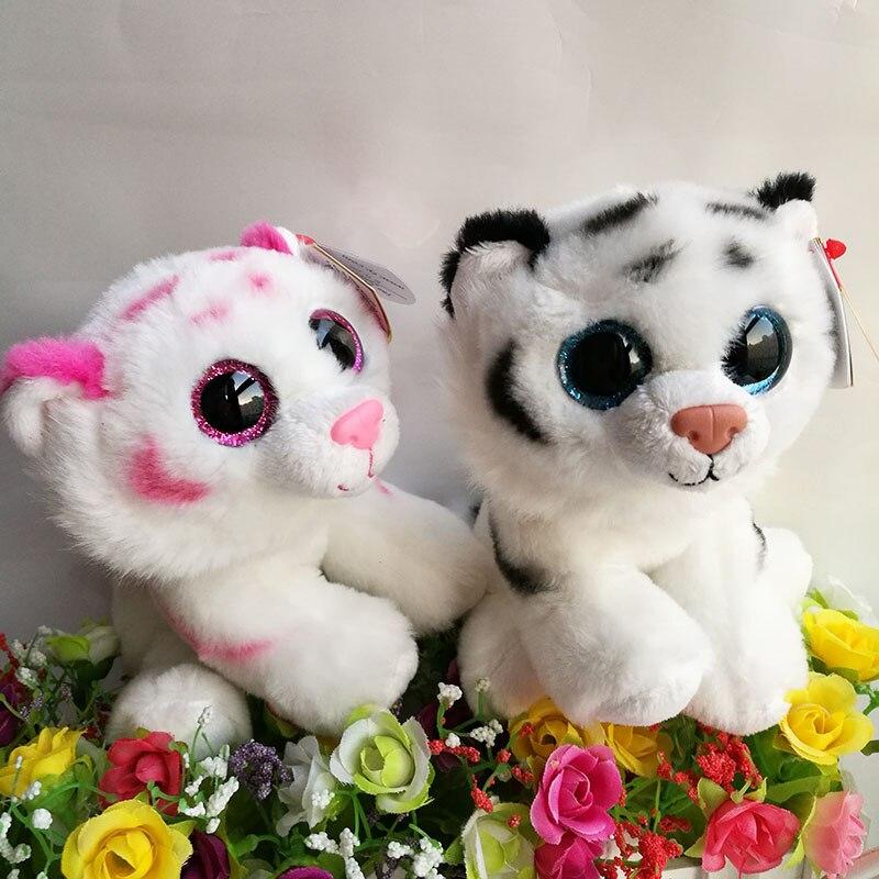 4a0e5fd3bdd Tabor Tigre tigre Tundra 15 cm 6 inch Ty Beanie Babies Plush Toy Stuffed  Animal Macio Toy Kids Natal Aniversário presente em Stuffed   Plush  Animais de .