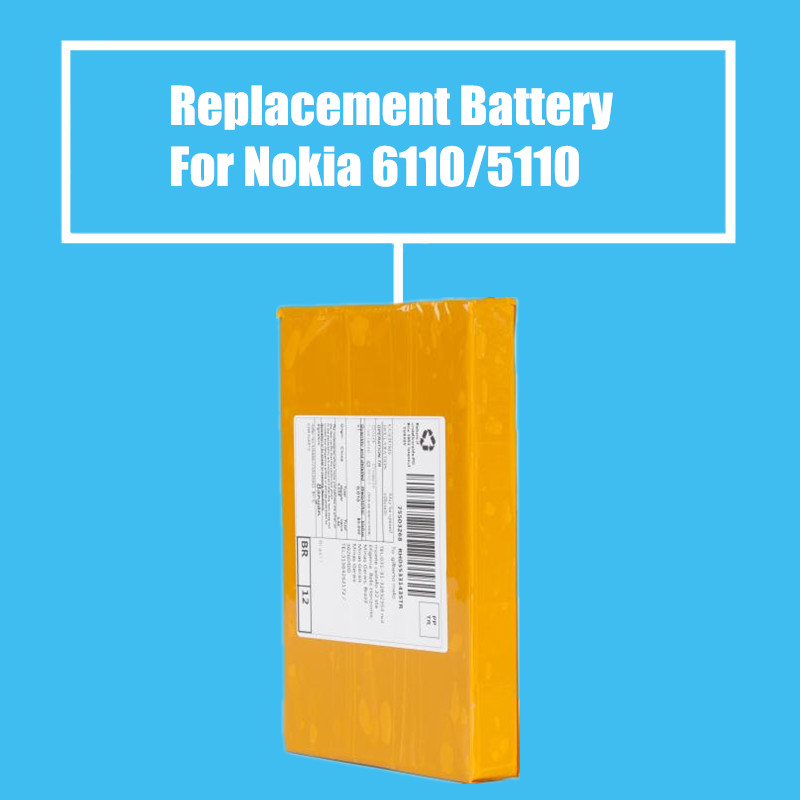 10Pcs/Pack Replacement Battery 1000mah for <font><b>Nokia</b></font> 5110 6110 6150 <font><b>6310</b></font> High Quality image