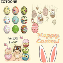 ZOTOONE Animals Iron on Transfer for Clothing Stickers Clothes DIY Cartoon Badges Girl Patches T-shirts Custom E