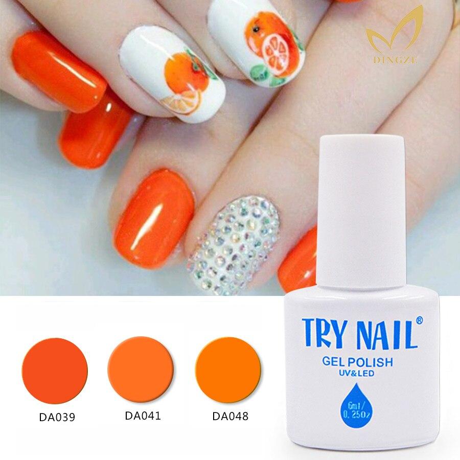 Aliexpress.com : Buy TRY NAIL Free Shipping UV Gel Nail Polish ...