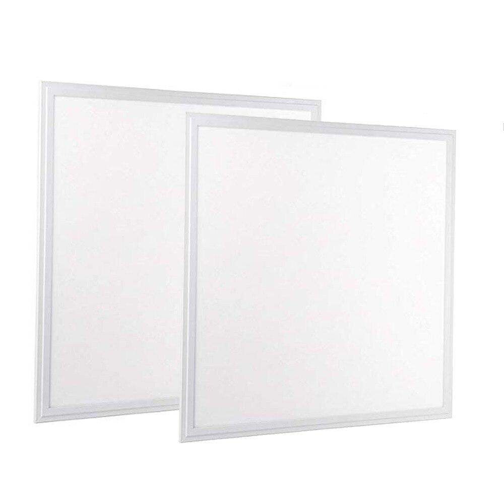 Ehrlich 2 Pack Von 2x2 Ft 30 W Led-panel Licht, Etl Aufgeführt, 6000 Lumen 5000 K Tageslicht Weiß Farbe, Tropfen Decke Flache Led Licht Panel Volumen Groß