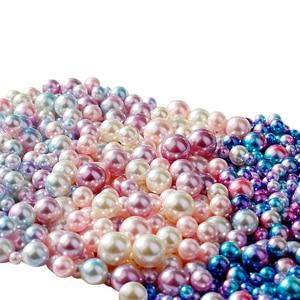 Image 5 - ヴィンテージ飾り模擬真珠グラデーションカラー人魚の目ビーズフォトの写真の背景装飾アイテムジュエリーリング