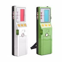 Outdoor 50M Laser Level Receiver Green Red Beam Lines Laser Detector Level Receiver with Clamp Self Leveling Laser Receiver