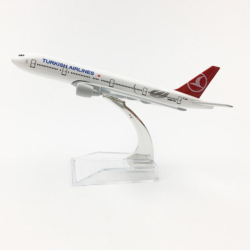Turkish Airlines Boeing777 20CM Airplane Model Turkey 16CM B777 Plane Model Original Model A350 Diecast Aircraft Model Toy Plane