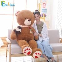 Babiqu 1pc 80cm New Style Lovely Stuffed Teddy Bear Plush Toy Big Embrace Bear Kids Doll Lovers Christmas Gift Birthday Present