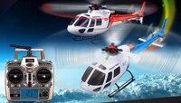 2 Batteries WLtoys V931 6CH Brushless Flybarless Helicopter 2 4GHz 3 Blades Brushless Motor Support