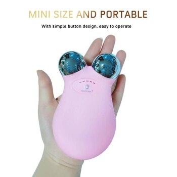 Lifting Facciale A Microcorrente | Mini Micro-corrente Lifting Del Viso Strumento Di Ringiovanimento Del Viso Spa USB Viso-lift Dispositivo Salone Di Bellezza Microcurrent Rughe