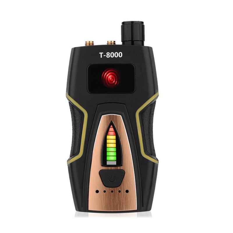 Wireless Camera Detector RF Signal Bug Detector High sensitive Spy Finder Radio Scanner with Sound Alarm
