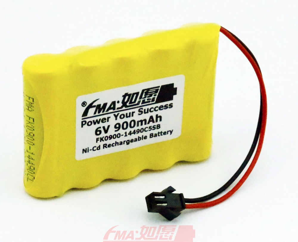 Ni Cd 6v 900mah Rechargeable Battery For Model Toys Racing Car W