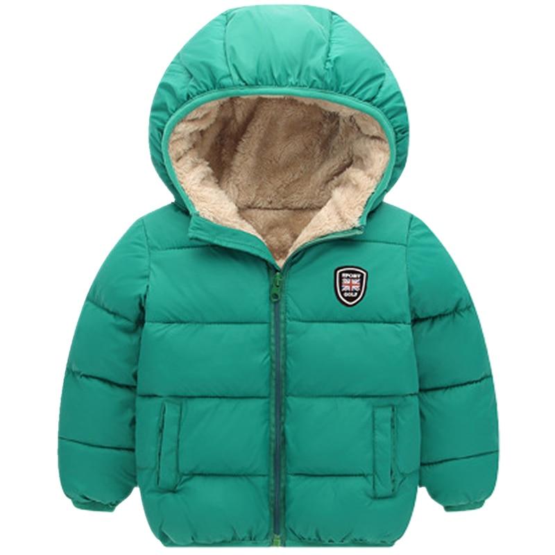 Дети Обувь для мальчиков Обувь для девочек куртка с капюшоном зимние теплые пальто Детская одежда карманы на молнии Зимняя верхняя одежда п... ...