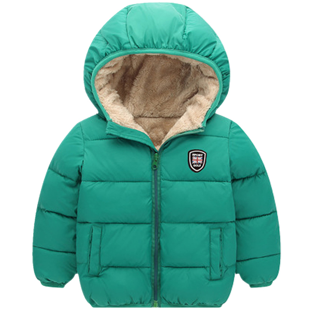 95985fbf6543 Baby Coats And Jackets Winter Warm Thick Coat Kids Clothes Zip ...