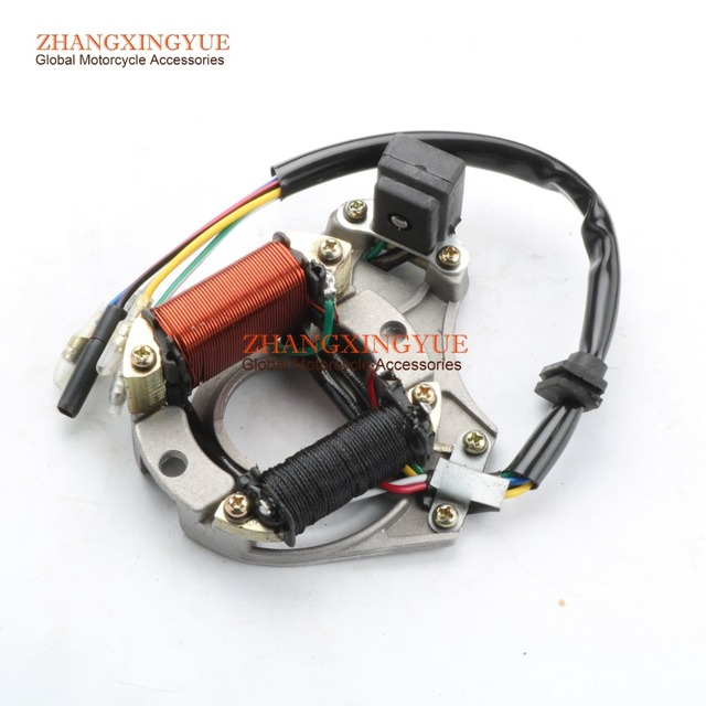 US $17 99 |Aliexpress com : Buy 5 lines Quad STATOR IGNITION MAGNETO PLATE  for ATV 50 110 125cc 2 coil Chinese from Reliable magneto plate suppliers