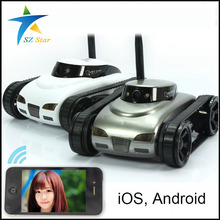 Real-time Mini RC Tank APP Controlled Wireless Spy Wifi