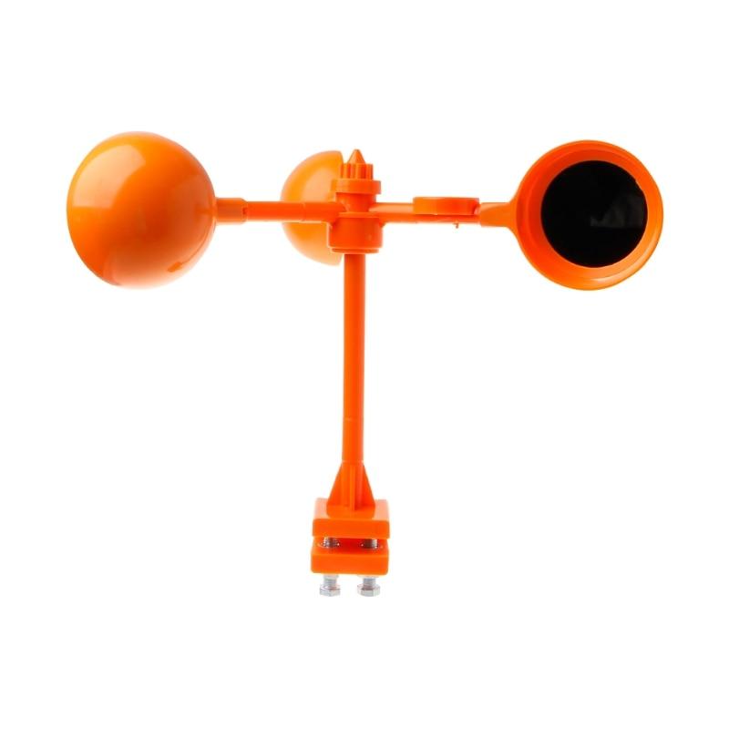 OOTDTY Reflective Bird Repellent 360 Degrees Wind Power Scarer Operated Garden Tool New