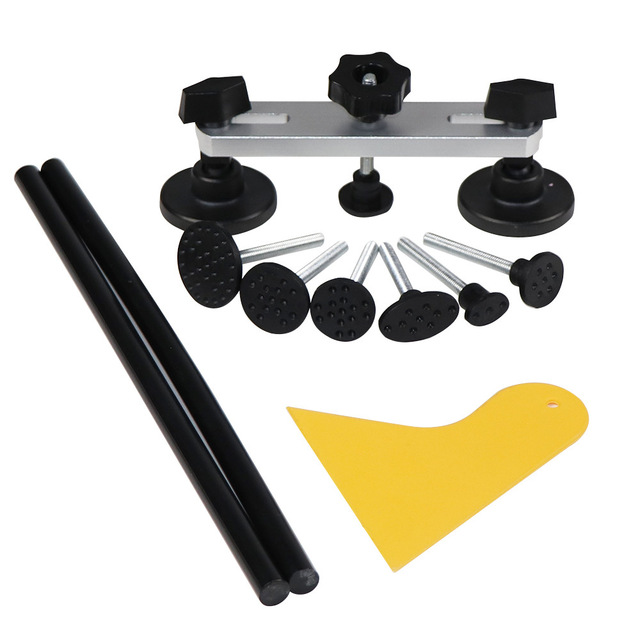 PDR Tool kit Auto Car Body Dent Lifter Remover Repair Puller Kit Tools Slide/reverse hammer Suction Cup pulling bridge kit