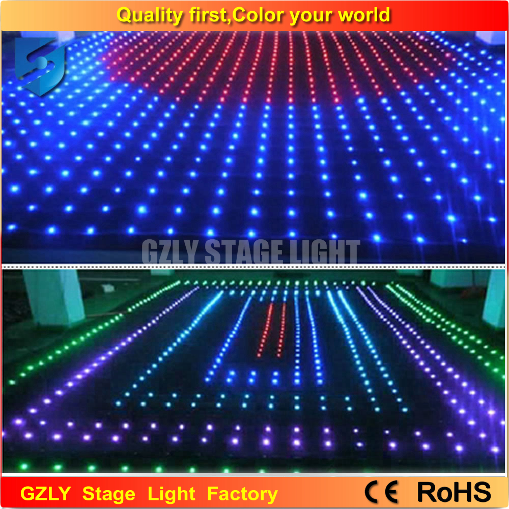 Color booth online - 3 5m 4 5m P18 Dj Booth Stage Lighting Dmx512 Control Dj Lights Hi Quality Led Disco Light Led Video Curtain