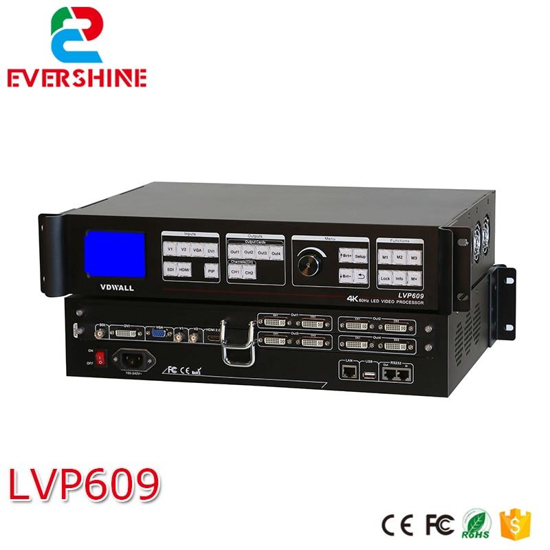 Новинка 2017 года код VDWALL LVP609 Профессиональный светодио дный видео процессор 4 К 60 Гц полюс четкости professionalvideo процессор