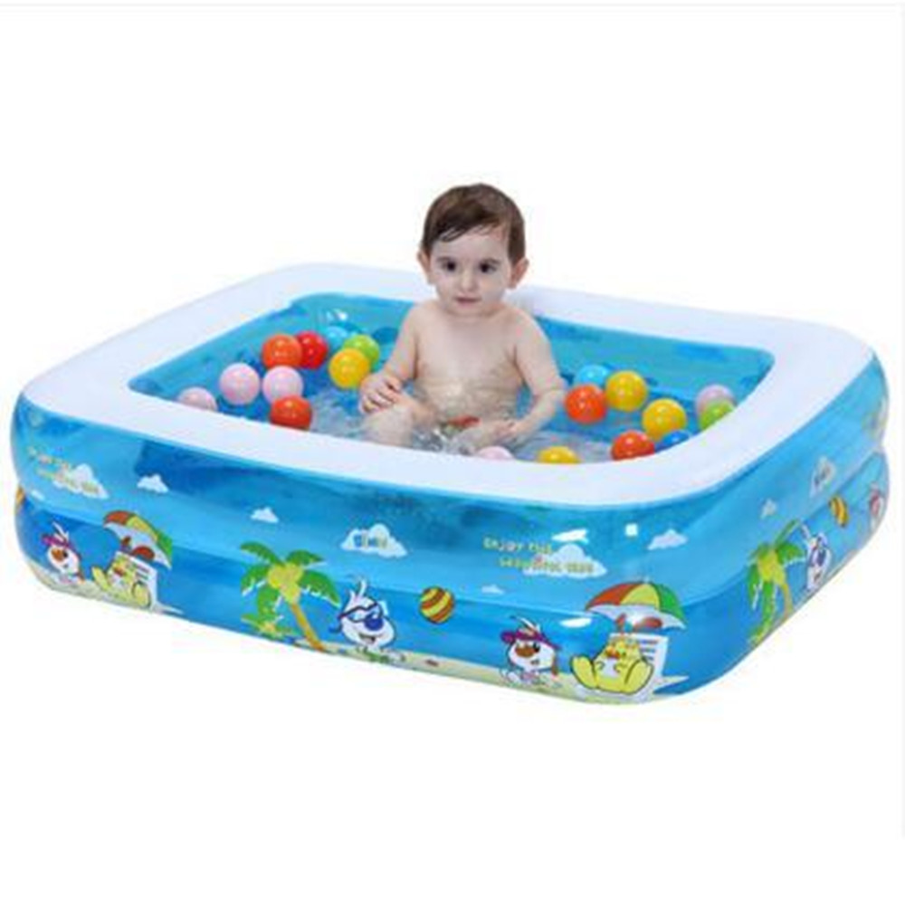 2017 piscine gonflable pour bébés et enfants grandes piscines familiales piscine à balles océan baignoire adulte épaissie - 5