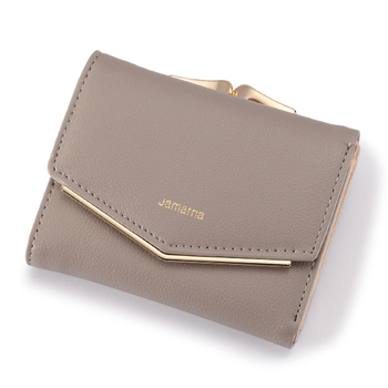 Women's Elegant Leather Wallet Bags and Wallets Women's Wallets Color: Gray