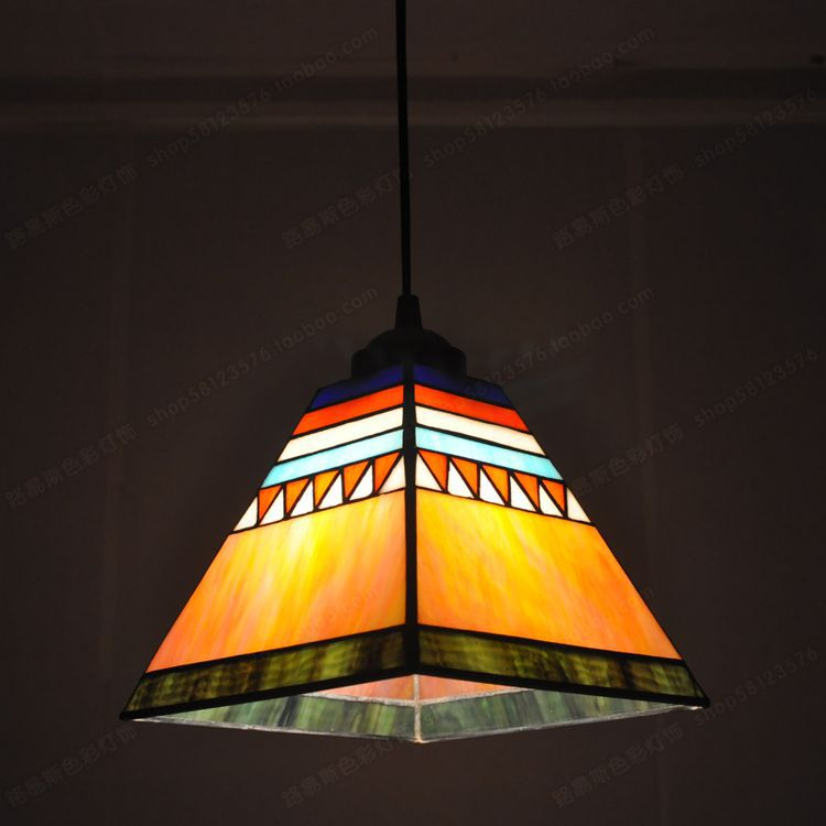 Us 66 4 20 Off Spanish Style Chandelier Tiffany Small Restaurant With Bar Arts Sun Room Windows And Lighting In Pendant Lights From Lights