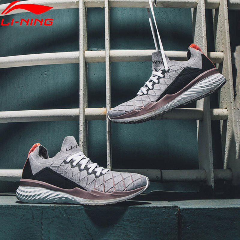 Li Ning Women LN CLOUD 2019 Cushion Running Shoes PROBAR LOC Breathable Stable LiNing Sport Shoes