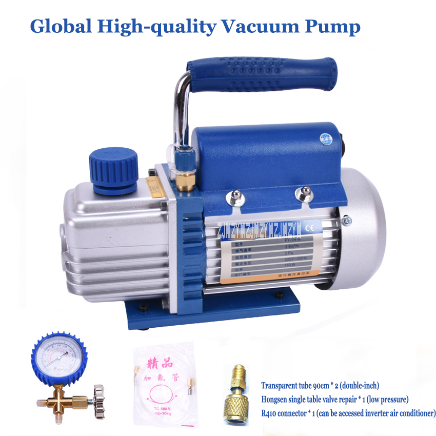FY 1H N Air Compressor LCD Separator Laminating Machine Mini Air Ultimate Vacuum Pump 220V 150ml HVAC Refrigeration Repair Tools