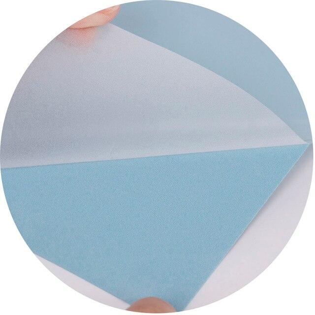 HOHOFILM 11PCS/COLORS A4 pack Flock Heat Transfer Vinyl HTV Cutting Vinyl Iron on Film t-SHIRT Heat Press Vinyl Sample