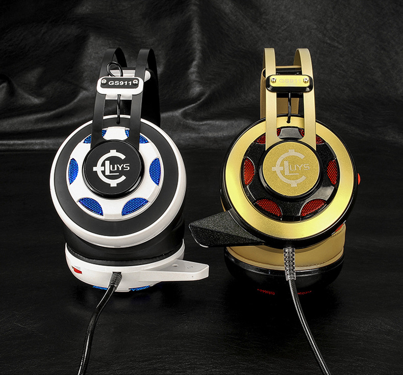 GS911 Gamer Headphone headband headphone internet bar bass font b gaming b font font b headset
