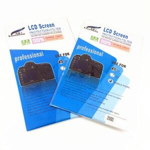Image 2 - 2pcs Soft LCD Screen Plastic Film Protector for  Canon EOS 200D II 250D Rebel SL3 KISS X10 / 200D Rebel SL2 Kiss X9 DSLR Camera