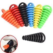 1 шт. 10*4 см выхлопная труба мотоцикла для мотокросса выхлопная труба ПВХ воздушная заглушка глушитель на выхлопную трубу заглушка для мытья трубы протектор