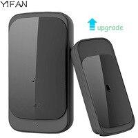 YIFAN Waterproof Wireless Doorbell Touch EU US Plug Upgrade 280M Long Range Smart Door Bell Chime