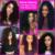 Graça 10a não transformados virgin brazilian kinky do cabelo encaracolado cabelo maxglam cabelo encaracolado brasileiro profunda curly virgem cabelo 3 ofertas bundle