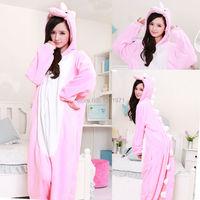 Super Natural Women Men Adult Winter Dragon Pink Green Grey Dinosaur Pajamas Onesie Hoodie Cosplay Costume