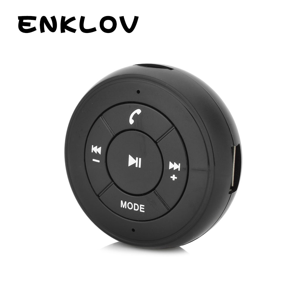 ENKLOV Car Bluetooth Audio Receiver w/ TF / MP3 / FM / USB / AUX  Bluetooth Car K Adapter