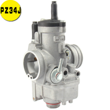 цена на PZ34J 34mm Carburetor For 177mm Zongshen 250cc water cooled 4 valve Engine xmotos kayo apollo Bse nc250 Dirt bike ATV