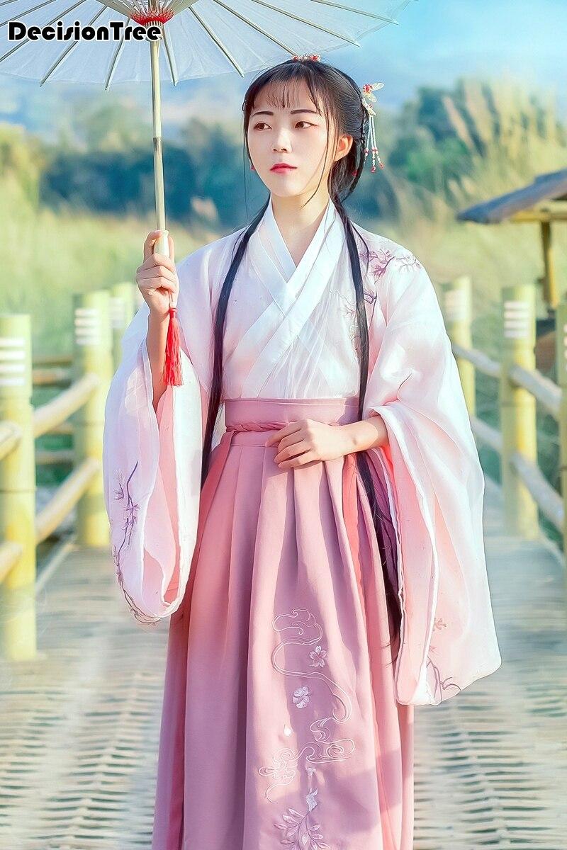 2019 New Designs Dynasty Princess Costume Hanfu For Play Female